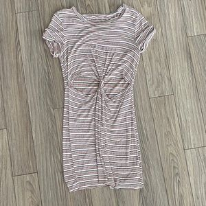 Honey Punch Urban Outfitters Cut Out Knot Dress